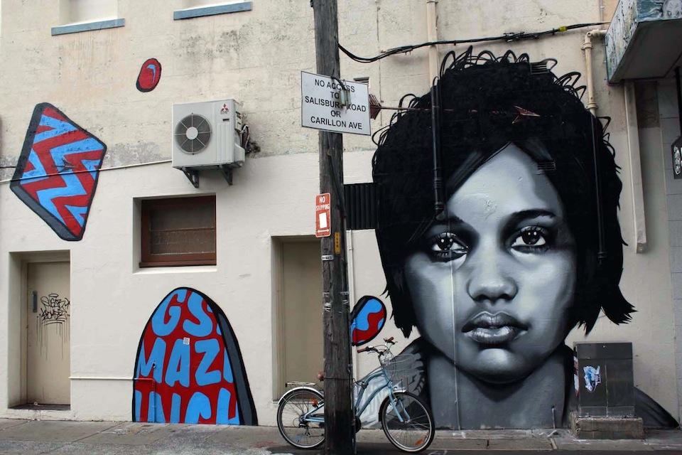Street Art by Linz in Sydney, Australia 2