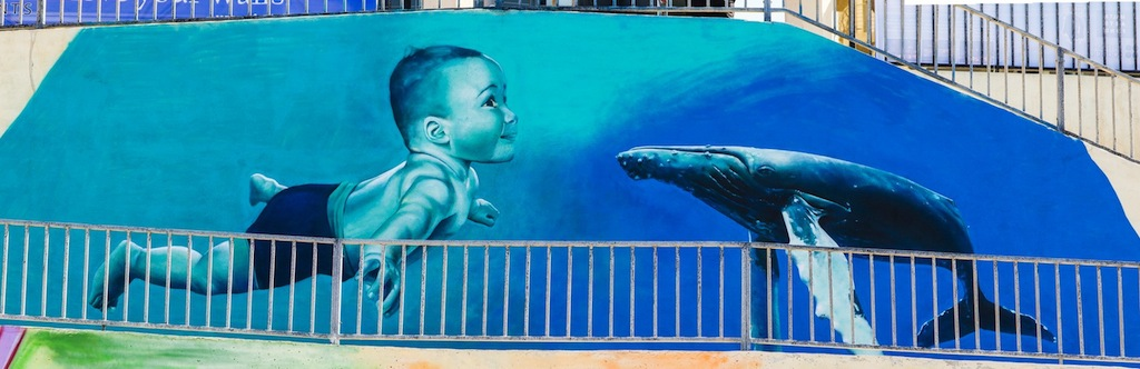 By TelmoMiel at the Sliema Street Art Festival. Photo by Asperholm Productions in Sliema, Malta