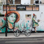Street Art by Alice Pasquini in Camden, London, UK