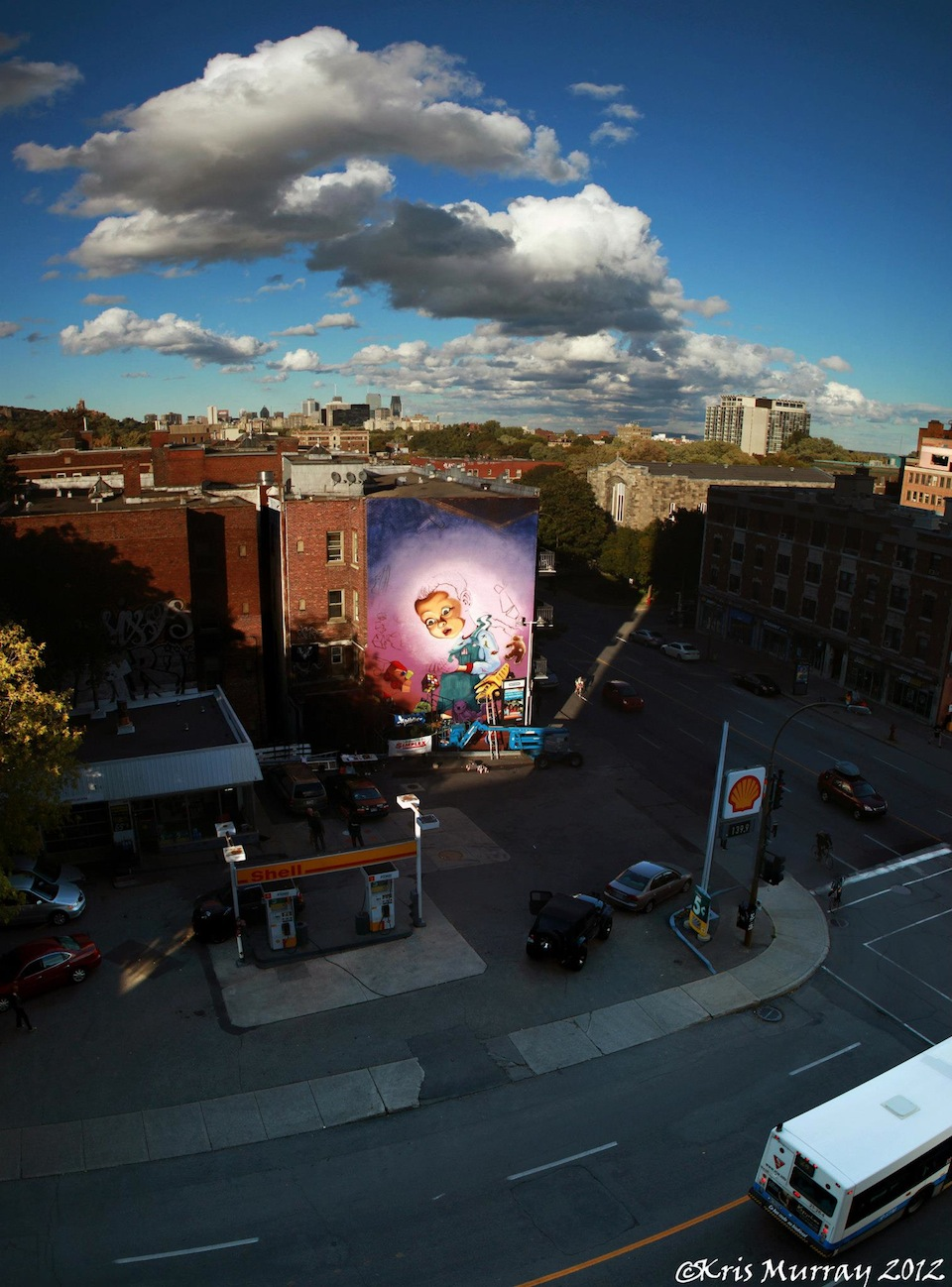 Street Art by A'shop in Montreal, Quebec 2