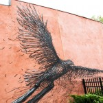 Street Art by DALeast in, Rochester NY 1