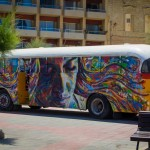 Street Art by David Walker at the Sliema Street Art Festival. Photo by Asperholm Productions in Sliema, Maltas