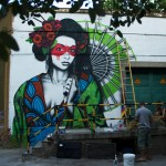 Street Art by Fin DAC in Madrid, Spain. Photo by Miss Kaliansky