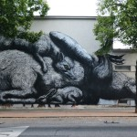 Street Art by ROA in Vienna, Austria 1