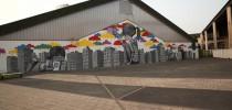 Street Art by Seth on Festival Cheminance in Fleury les-Aubrais, France