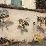 Street Art by Louise Masai in Bristol, England 1