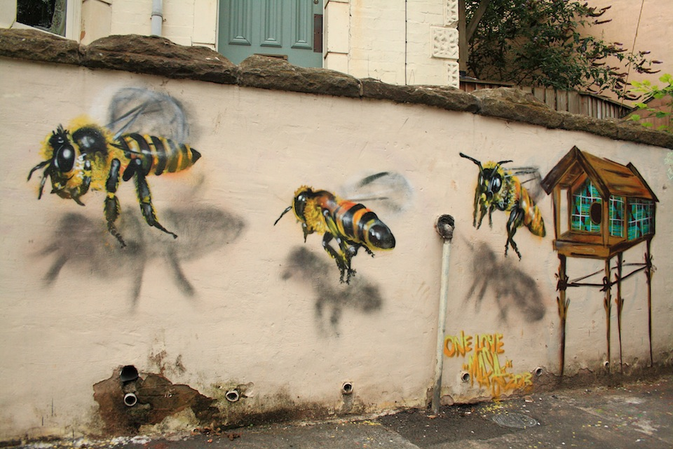 Street Art by Louise Masai in Bristol, England 1