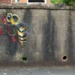 Street Art by Louise Masai in Bristol, England 2