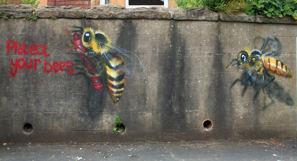 Street Art by Louise Masai in Bristol, England 2