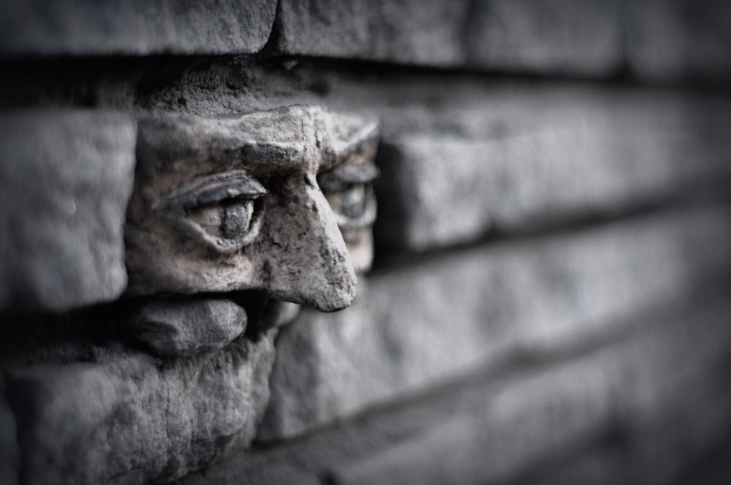 Another brick in the wall - In Gorzow, Poland