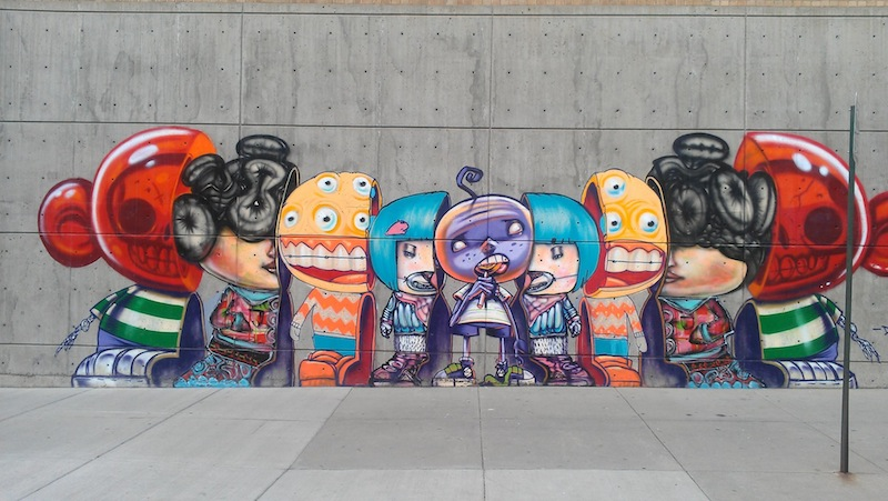 By David Choe in Denver, Colorado, USA
