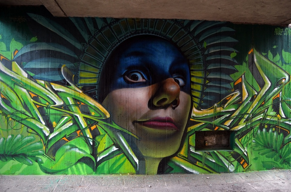 Graffiti by ARTEAZ in Belgrade, Serbia 1