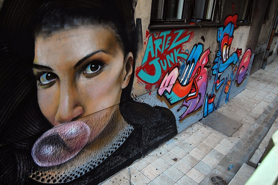 Graffiti by ARTEAZ in Belgrade, Serbia 2