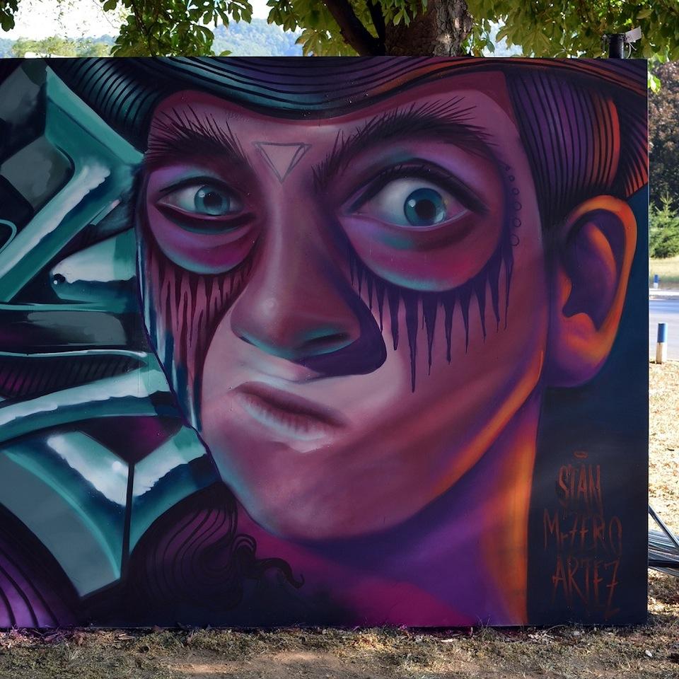 Graffiti by ARTEAZ in Belgrade, Serbia 3