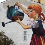 Mural by Natalii Rak at Folk on the Street in Białymstoku, Poland 2