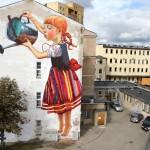 Mural by Natalii Rak at Folk on the Street in Białymstoku, Poland 4