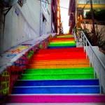 Street Art Color Steps in Turkey 2