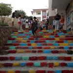 Street Art Color Steps in Turkey 3