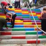 Street Art Color Steps in Turkey 5