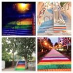 Street Art Color Steps in Turkey 7