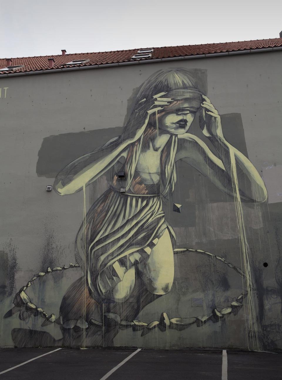 Street Art by faith47 at Nuart in Stavanger, Norway 2