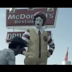 Banksy's Ronald McDonald Shoe Shine piece 90480