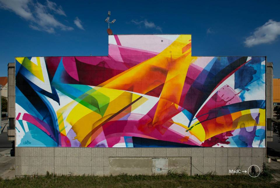 Graffiti by MadC in Leipzig, Germany at the Alte Messe 1