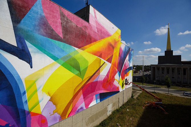 Graffiti by MadC in Leipzig, Germany at the Alte Messe 10