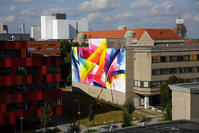 Graffiti by MadC in Leipzig, Germany at the Alte Messe 11