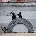 By Banksy – In Bed Stuy, New York, USA