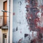 Street Art by Borondo in Sapri SA, Italy at Oltre il Muro Festival 1