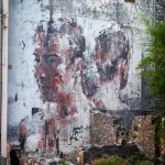 Street Art by Borondo in Sapri SA, Italy at Oltre il Muro Festival 5