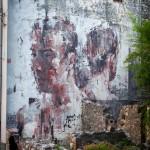 Street Art by Borondo in Sapri SA, Italy at Oltre il Muro Festival 5