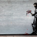 Waiting in vain – By Banksy in Hell's Kitchen, New York, USA 1
