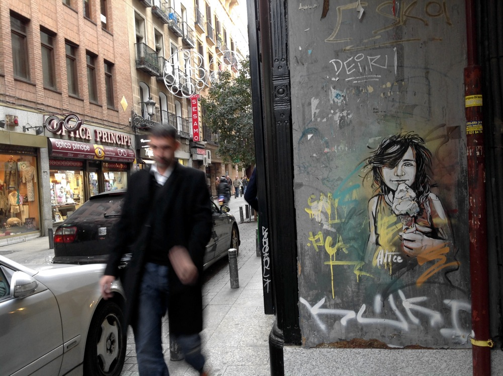 Street Art by Alice in Madrid, Italy 5