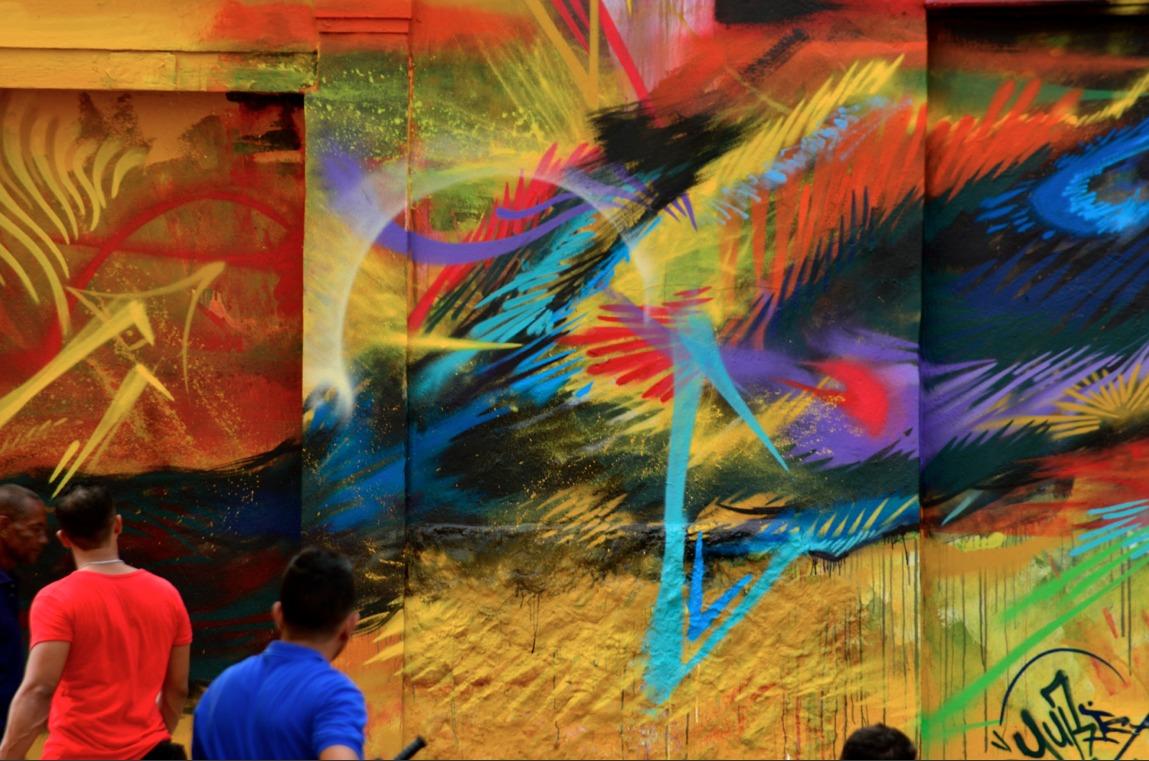 Graffiti by Yurika in Cartagena, Colombia 3