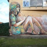 Street Art by Alice Pasquini in Berlin, Germany 1