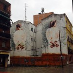 By Borondo – In Tetuán, Madrid, Spain