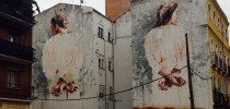 Street Art by Borondo in Tetuan, Madrid, Italy 1
