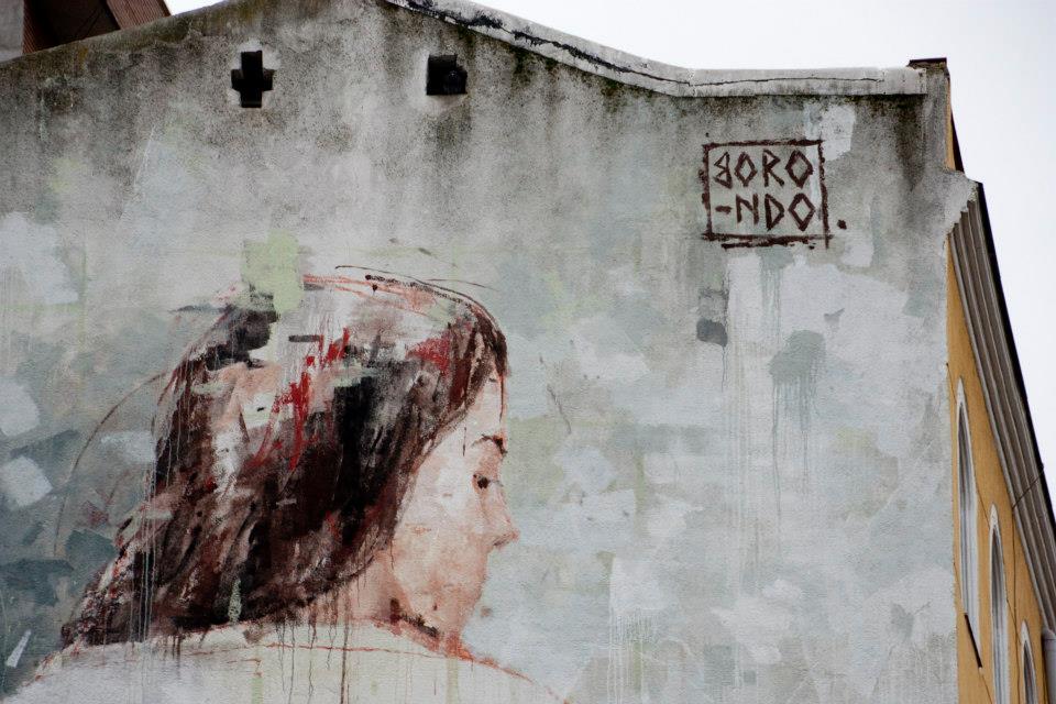 Street Art by Borondo in Tetuan, Madrid, Italy 4
