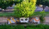 Street Art by Dzhon in Mendoza, Argentina
