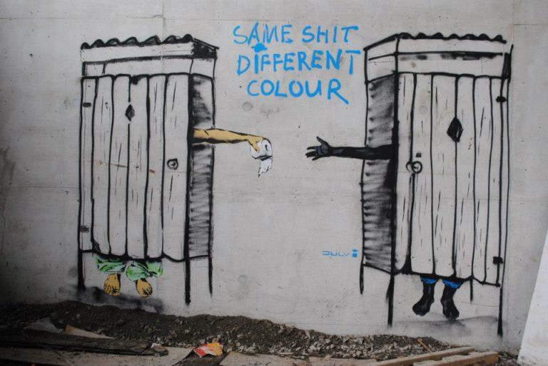 Street Art by JULY i – In Toronto, Canada