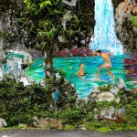 Ipoh Malaysia Street Art 2014 - Artist Eric Lai