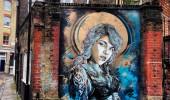 Street Art by C215 in East London, UK 1