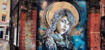 Street Art by C215 in East London, UK 1