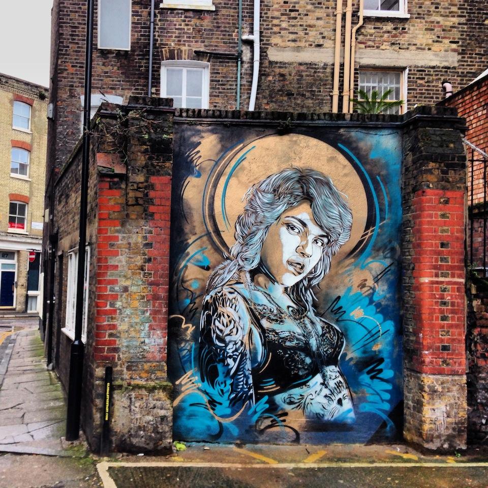 Street art by c215 in east london uk 1