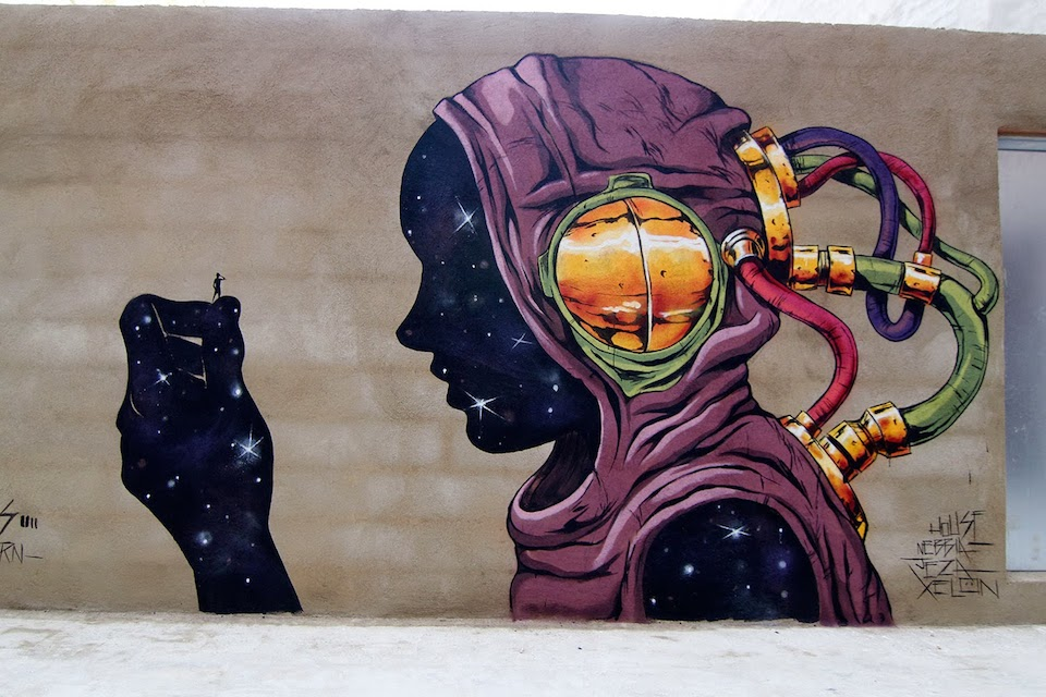 Street Art by Deih - In Valencia, Spain