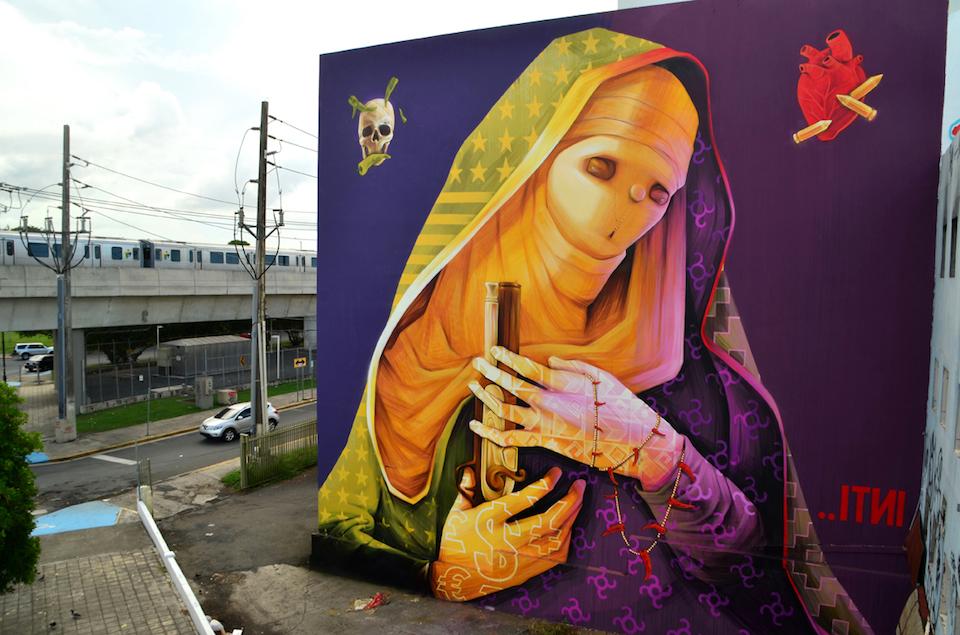 Street Art by INTI in Puerto Rico