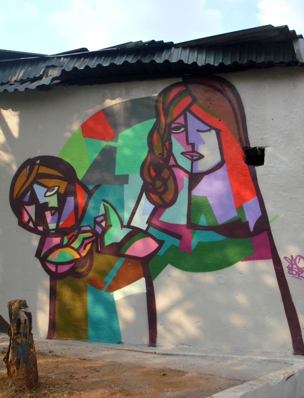 Street Art by SAO in São Paulo, Brazil 8