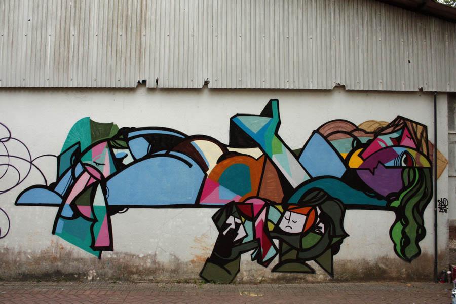 Street Art by SAO in São Paulo, Brazil 9